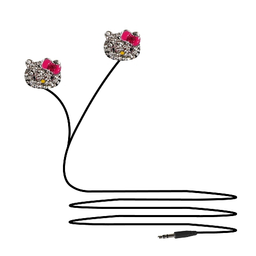 CASTI IN-EAR HELLO KITTY 0