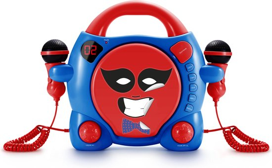 CD-PLAYER CU 2 MICROFOANE BOYS STICK BIGBEN 1