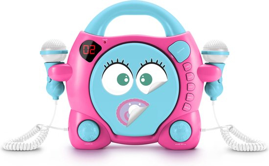 CD-PLAYER CU 2 MICROFOANE GIRLS STICK BIGBEN 0