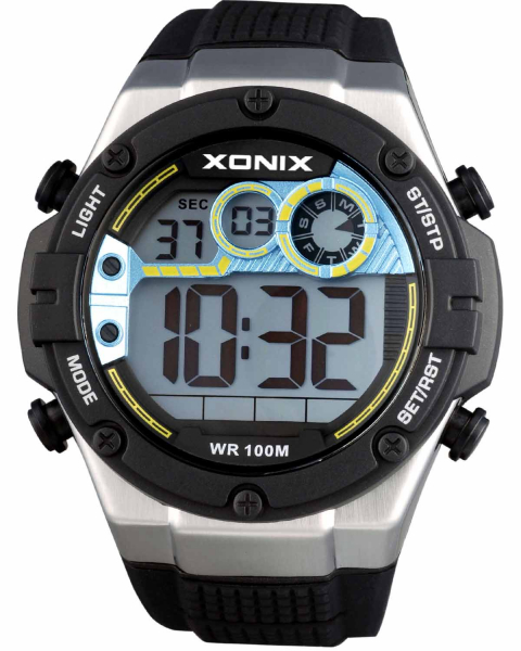 CEAS DE MANA COPII DIGITAL KIDS BLACK XONIX 44mm 0