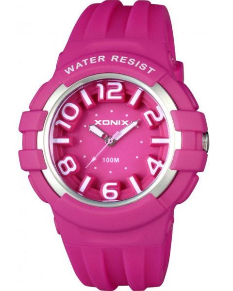 ceas de mana copii fete analogic roz bratara silicon subacvatic 0