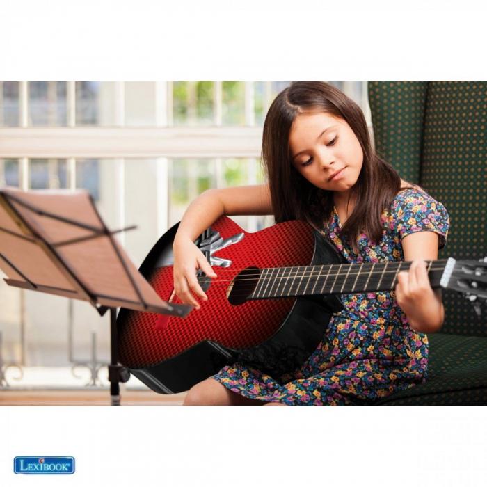 Chitara-clasica-copii-din-lemn-marime-78-cm-Vocea-Romaniei 3