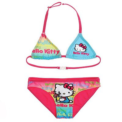 COSTUM DE BAIE SUMMER HELLO KITTY 0