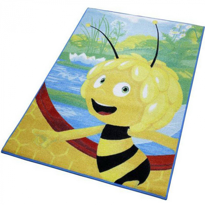 Covor camera copii, Maya the Bee, 95x133 cm, Antiderapant 1
