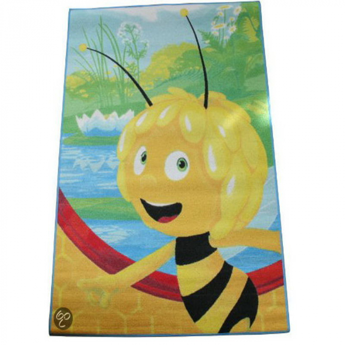 Covor camera copii, Maya the Bee, 95x133 cm, Antiderapant