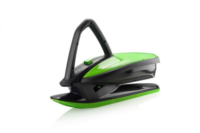 Sanie Copii Skidrifter  cu buton de program de stabilitate manuală mystic green [0]
