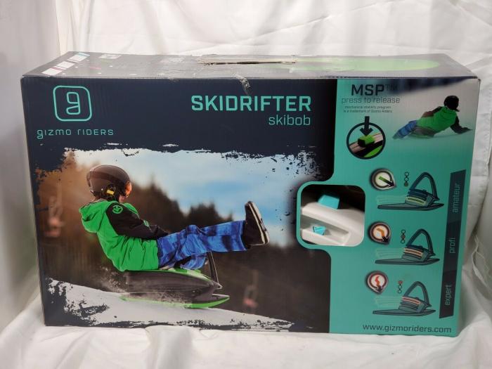 Sanie Copii Skidrifter  cu buton de program de stabilitate manuală mystic green 2