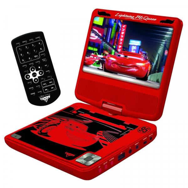 DVD PLAYER PORTABIL DISNEY CARS 0