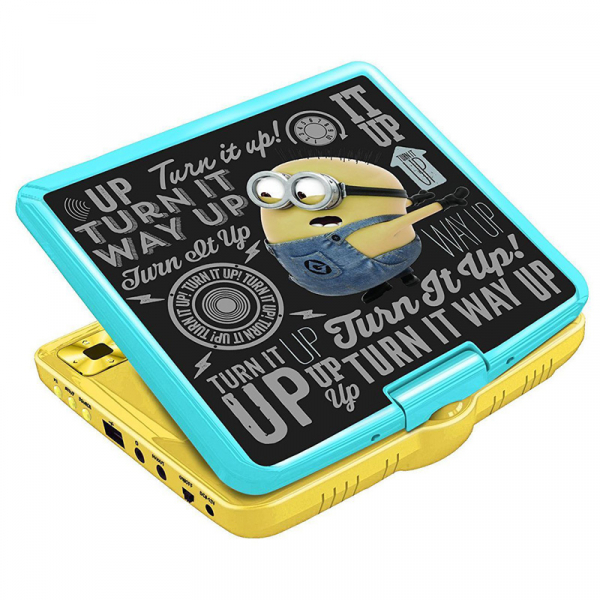 DVD PLAYER PORTABIL MINIONS 0