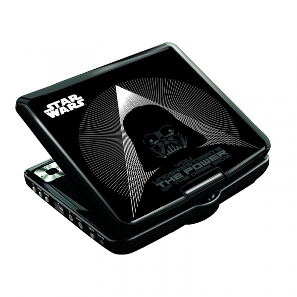 DVD PLAYER PORTABIL STAR WARS 0