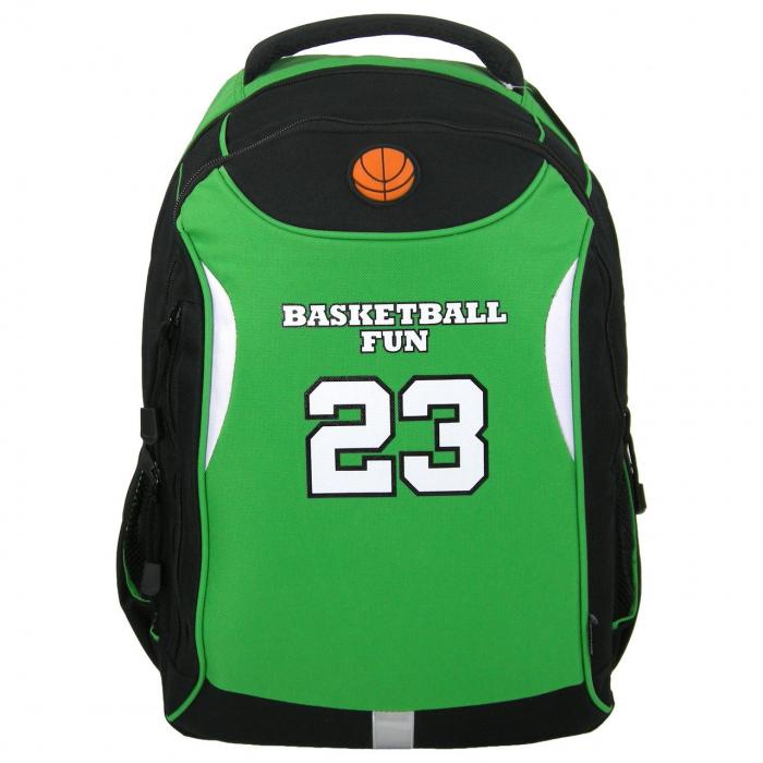 ghiozdan copii-baiet sport basketbal clasa 0-1-2-3-4 fun23