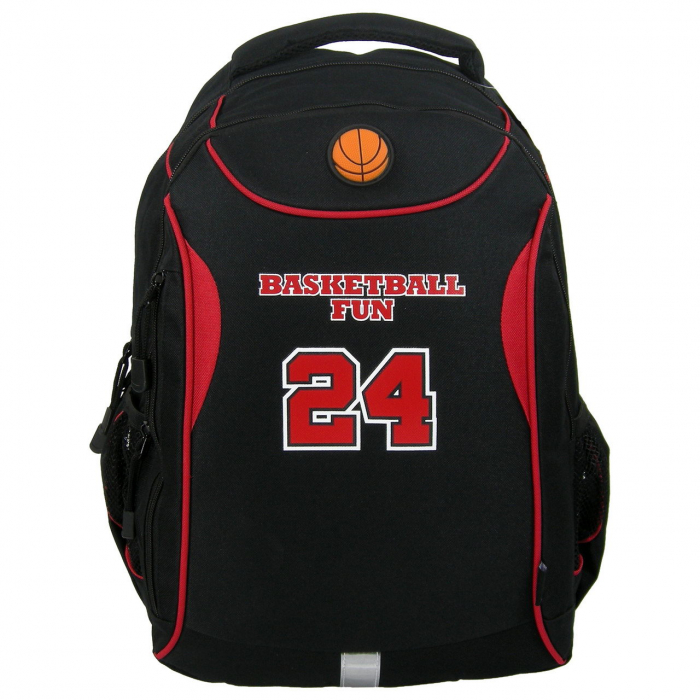 ghiozdan copii-baiet sport basketbal clasa 0-1-2-3-4 fun24 0