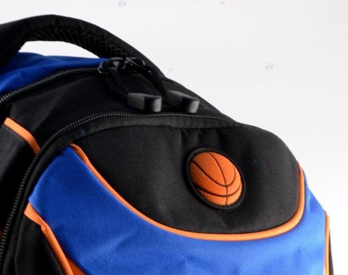 ghiozdan copii-baiet sport basketbal clasa 0-1-2-3-4 fun35 2