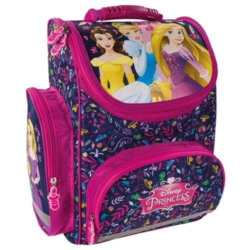 ghiozdan ergonomic disney princess fete roz clasa 0-1-2-3-4 0