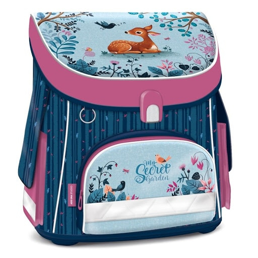 ghiozdan copii fete ergonomic roz clasa 0-1-2-3-4 0