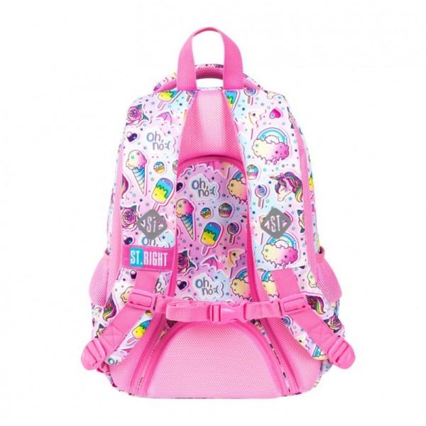 Ghiozdan scoala copii Sweet Pink, Majewski, roz 2