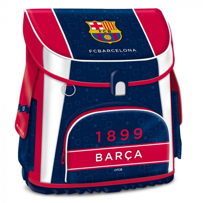 ghiozdan ergonomic copii-baieti fc barcelona clasa 0-1-2-3-4 1