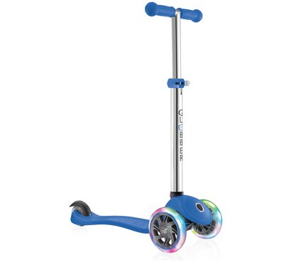 GLOBUL PRIMO LIGHTS 3 ROȚI SCOOTER - NAVY BLUE 0