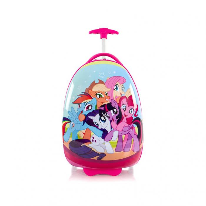 Troler-copii-fete-pentru-vacanta-calatorie-little-poney 1