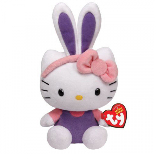 JUCARIE DE PLUS 15 CM EASTER BUNNY HELLO KITTY  0