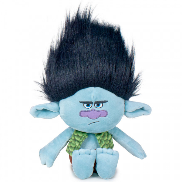 JUCARIE DE PLUS SOFT 35 CM BRANCH TROLLS 0