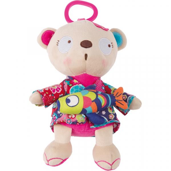JUCARIE MUSICAL BABY GIRL BEAR TUC TUC