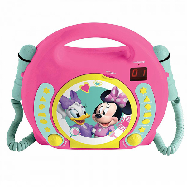 CD-PLAYER CU 2 MICROFOANE MINNIE MOUSE 0