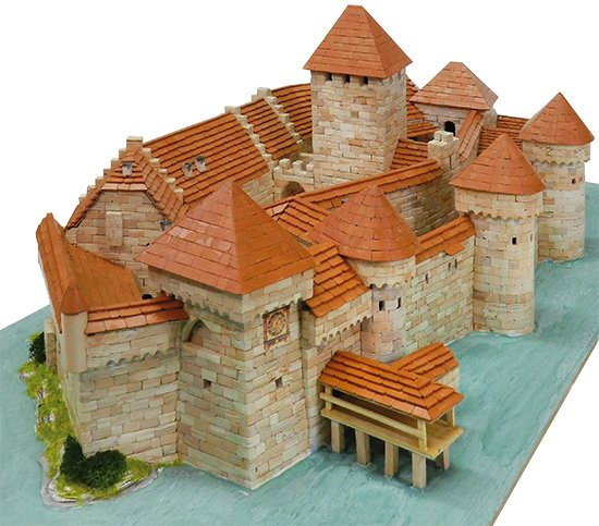 KIT DE CONSTRUCTIE CHATEAU DE CHILLON 2