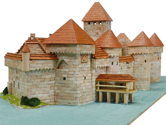 KIT DE CONSTRUCTIE CHATEAU DE CHILLON 0