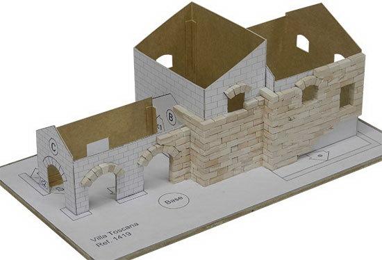 KIT DE CONSTRUCTIE VILA TOSCANA 1