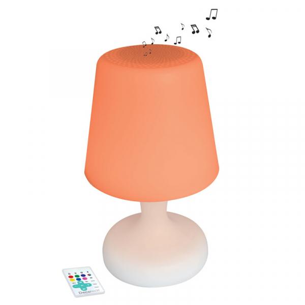 LAMPA CU LED SI DIFUZOR BLUETOOTH 0