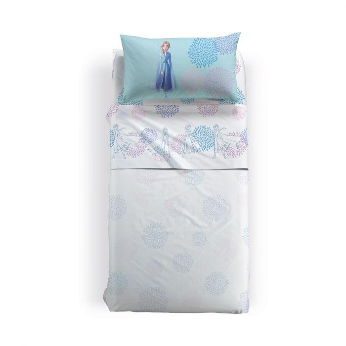 Lenjerie pat Elsa Blu, 155x280 cm 0