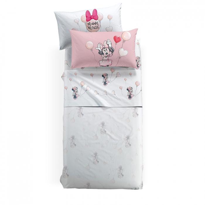 Lenjerie pat Minnie Love, 170x270 cm,roz 0