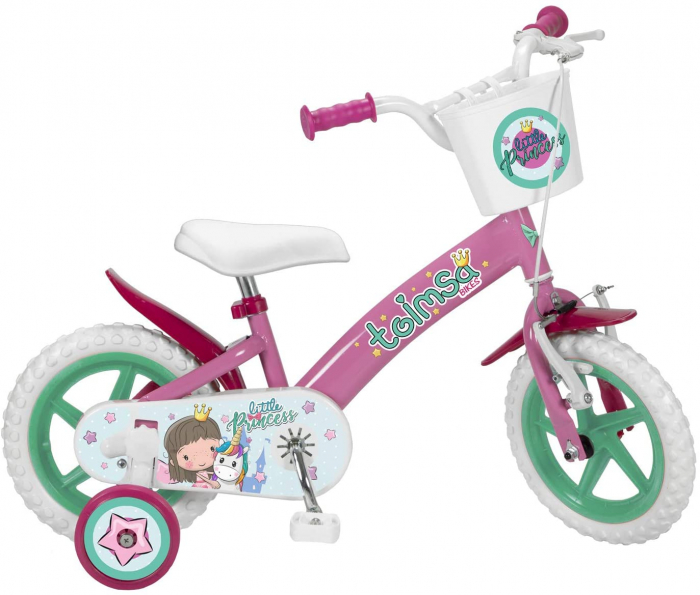 Bicicleta copii Little Princess, Toimsa, 12 inch 0