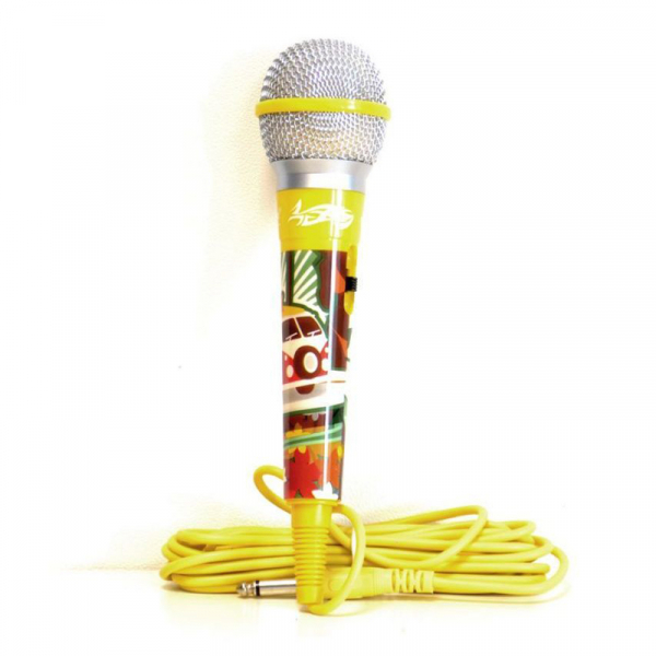 MICROFON YELLOW COLOR MIC IDANCE 0