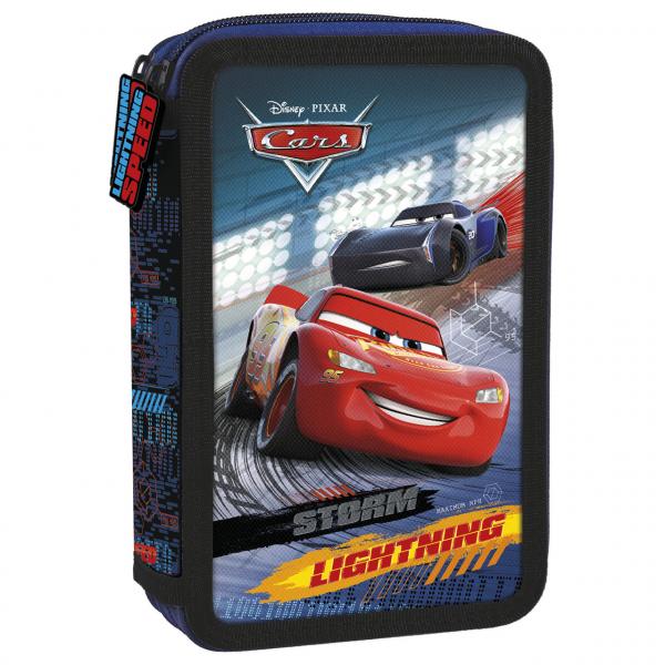 Penar scoala, echipat, dublu ( 2 compartimente), Baieti, Disney Cars 0