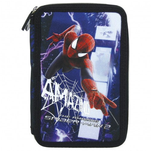 Penar scoala, echipat, dublu(2 compartimente), Baieti, Amazin Spiderman 0