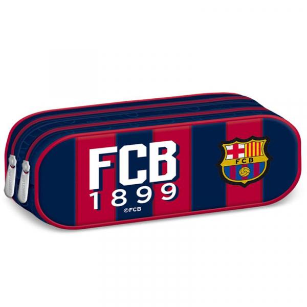 Penar scoala, neechipat, dublu (2 compartimente), Baieti, FC Barcelona 0
