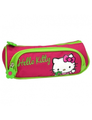 Penar scoala, neechipat, dublu(2 compartimente), Fete, Hello Kitty 0