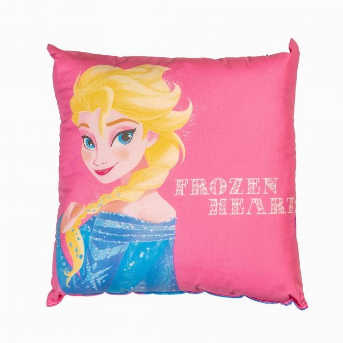 Perna decorativa Frozen , 42x42 cm, roz 0