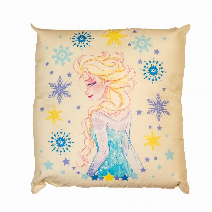 Perna decorativa Frozen Magia, 42x42 cm, crem 1
