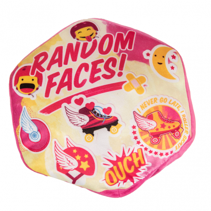 PERNA DECORATIVA RANDOM FACES SOY LUNA 1