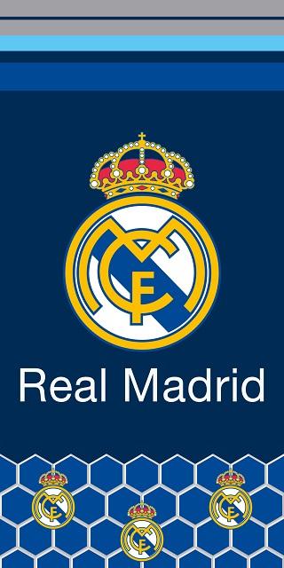 Prosop de baie sau plaja Real Madrid , 70X 140CM 0