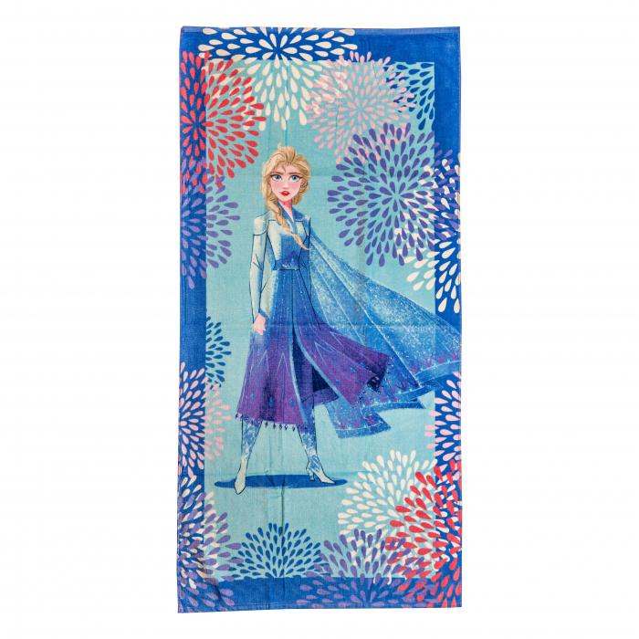 Prosop pentru baie sau plaja Elsa Blu, Caleffi, 75x150 cm [0]