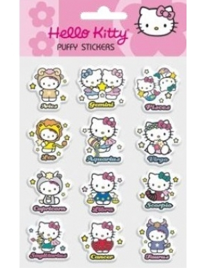 PUFFY STICKERE HELLO KITTY 0