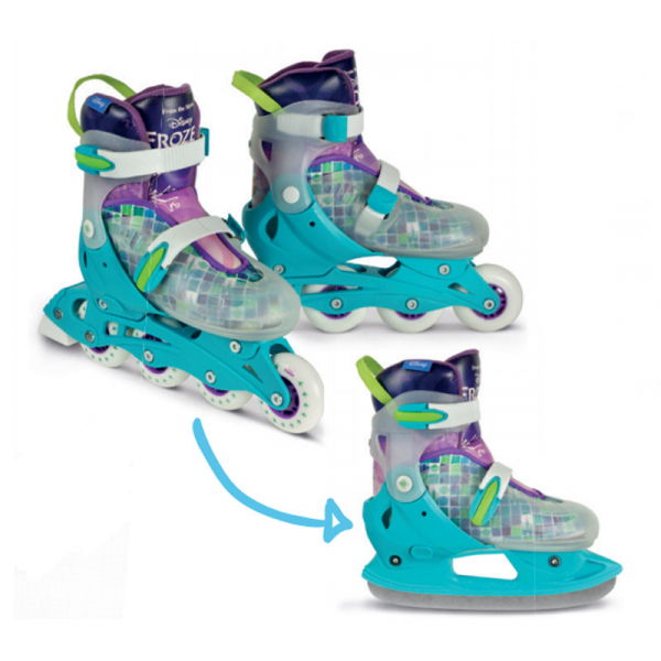 ROLE 2 IN 1 INLINE & ICE SKATE MAGIC DISNEY FROZEN 0