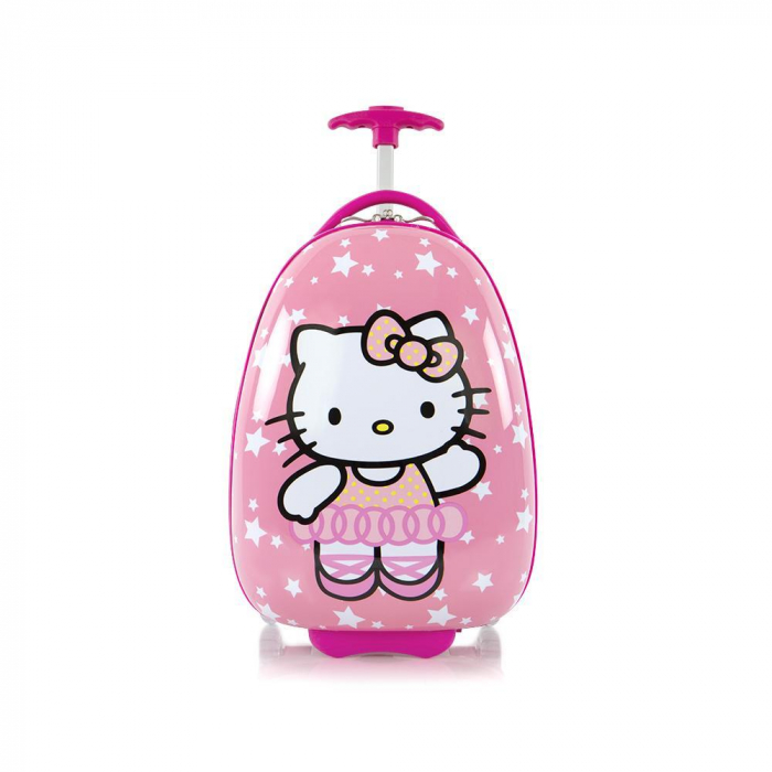 troler-calatorie-abs-copii-fete-hello-kitty-roz-46-cm 1
