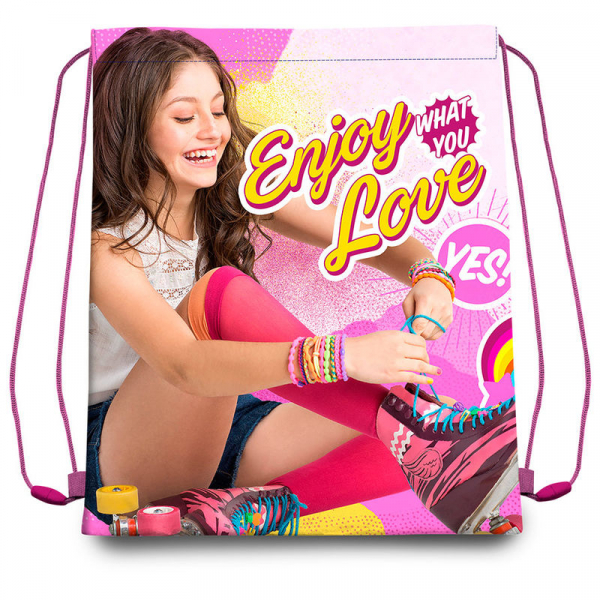 SACULET ENJOY LOVE SOY LUNA