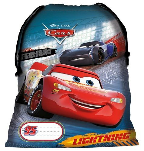 SACULET FITNESS DISNEY CARS 0