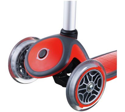 SCOOTER - ROȘU GLOBUL PRIMO LIGHTS 3 ROȚI 1